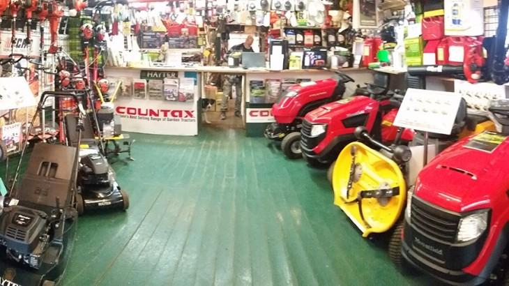 Lawncare Garden Machinery Showroom