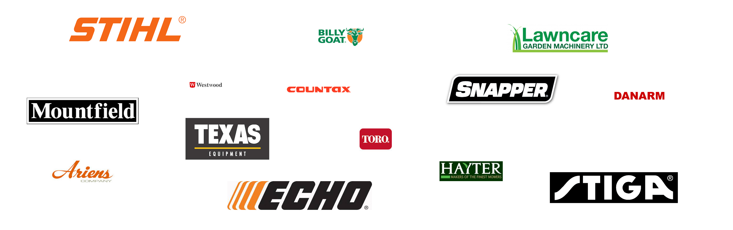 Lawncare Garden Machinery Brands